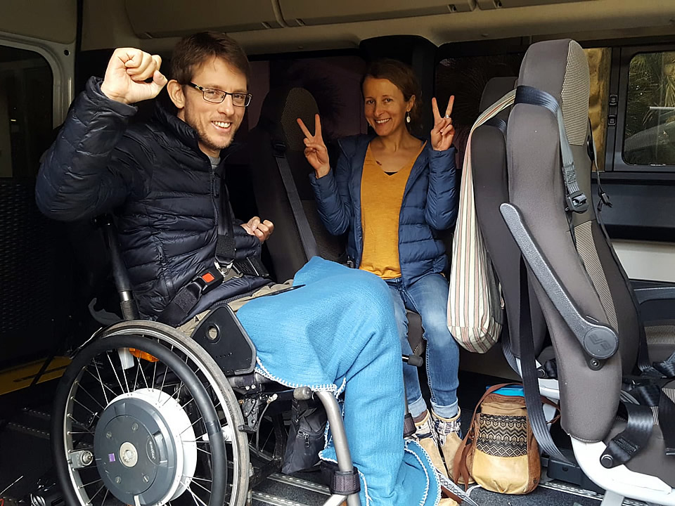 Sicily Wheelchair Accessible Transfers